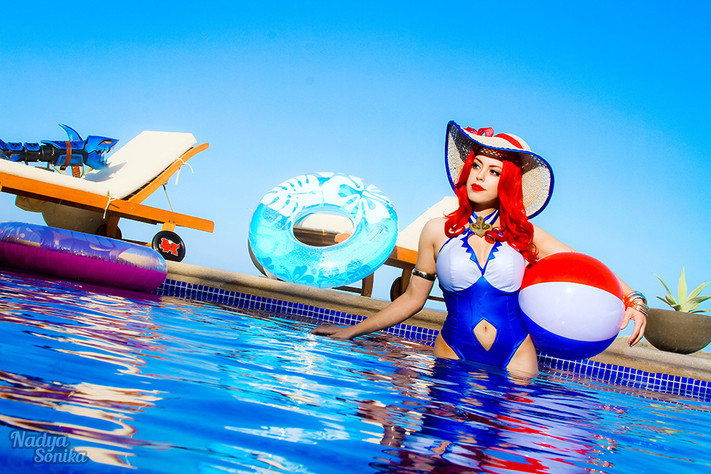 miss fortune � pool party nadyasonika